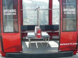 Whistler peak to peak, cable car